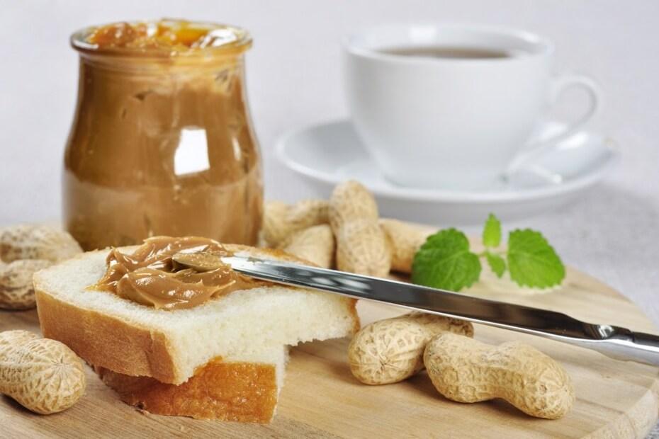 Арахисовая паста - быстрый, вкусный и полезный завтрак | Rosa Food