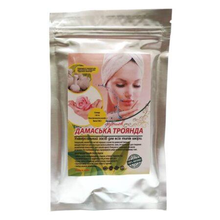 Маска для волос Дамасская Роза Henna 100 грамм купить в магазине Роса-Фуд