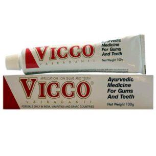 Аюрведическая зубная паста Vicco купить в магазине Роса-Фуд