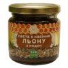 Паста из семян льна с медом (Эколия) 200 грамм купить в магазине Роса-Фуд