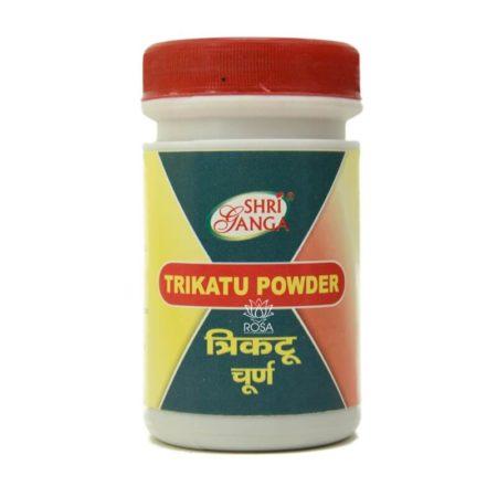 Трикату чурна (Trikatu Churna, Shri Ganga) 50 грамм купить в магазине Роса-Фуд