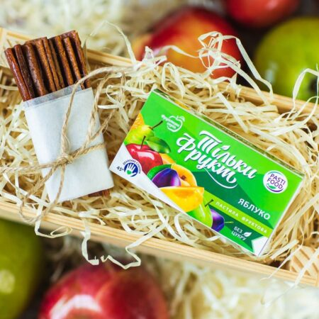 Пастила из фруктов Яблоко Pasti Food, 50г купить в магазине Роса-Фуд