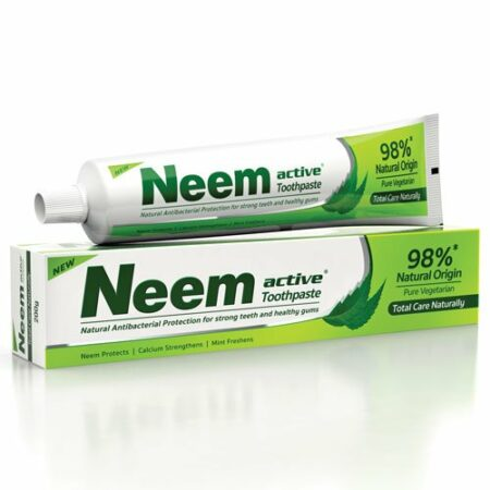 Зубная паста Ним Актив (Neem Active) 125 грамм купить в магазине Роса-Фуд
