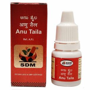 Ану Тайла (Anu Taila SDM Ayurveda Pharmacy) 5 мл купить в магазине Роса-Фуд