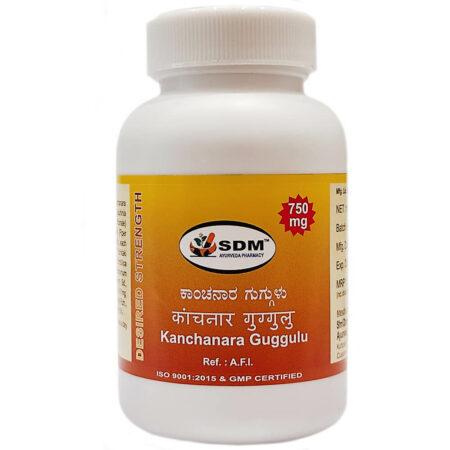 Канчнара гуггул (Kanchanara Guggulu, SDM) 100 таблеток купить в магазине Роса-Фуд