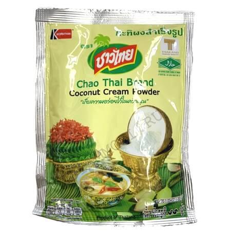 Сухое кокосовое молоко Chao Thai из Таиланда 60 грамм купить в магазине Роса-Фуд