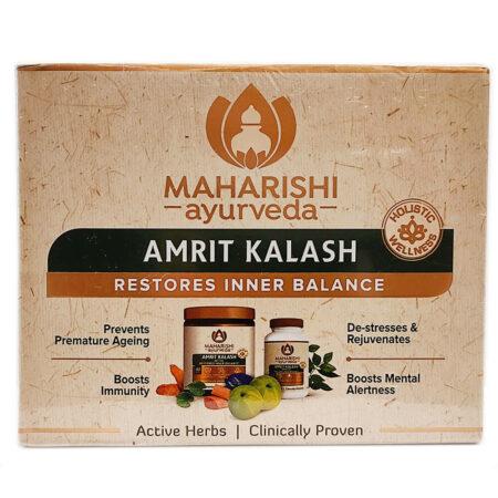 Амрит Калаш Махариши (Maharishi Ayurveda) 60 таб + 600г купить в магазине Роса-Фуд