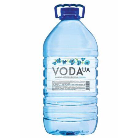 VODA UA в пластиковой бутылке негазированная 6л купить в магазине Роса-Фуд