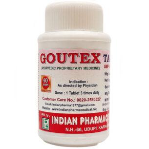 Гоутекс (Goutex Tablets, IPC) 100 таблеток купить в магазине Роса-Фуд