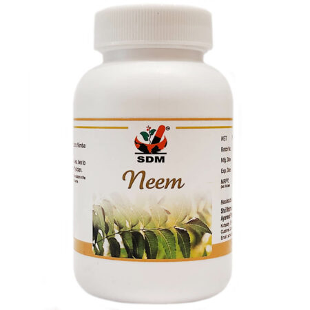 Ним (Neem Capsules, SDM Ayurveda Pharmacy) 100 капс купить в магазине Роса-Фуд